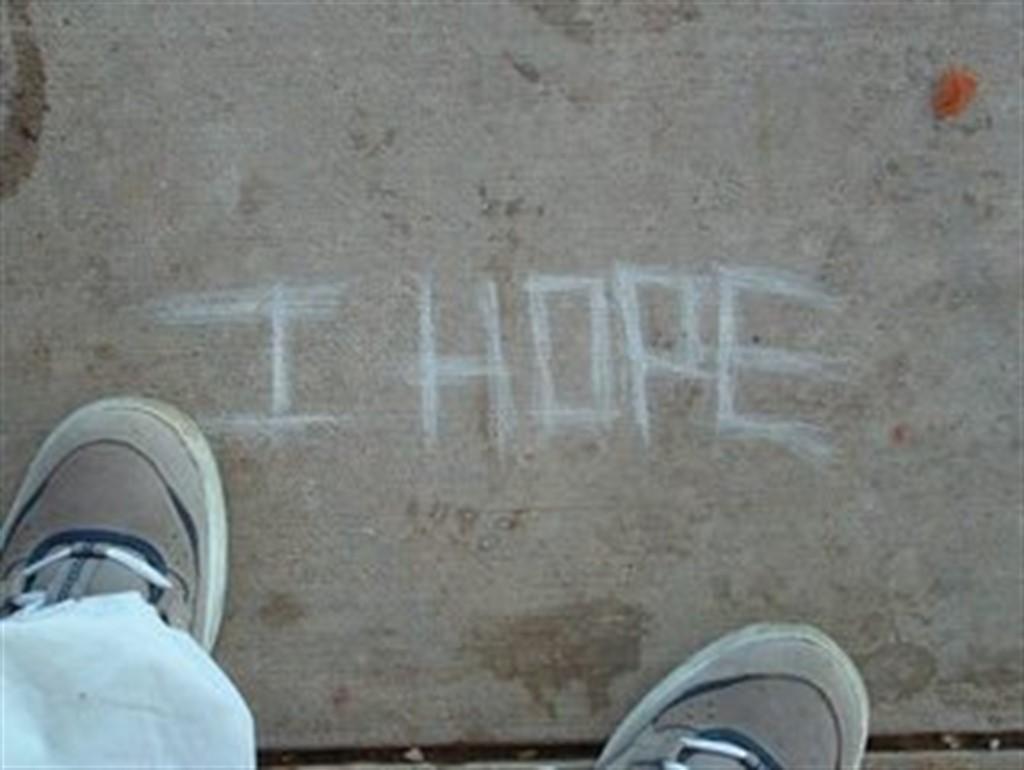 Ge aldrig upp hoppet!