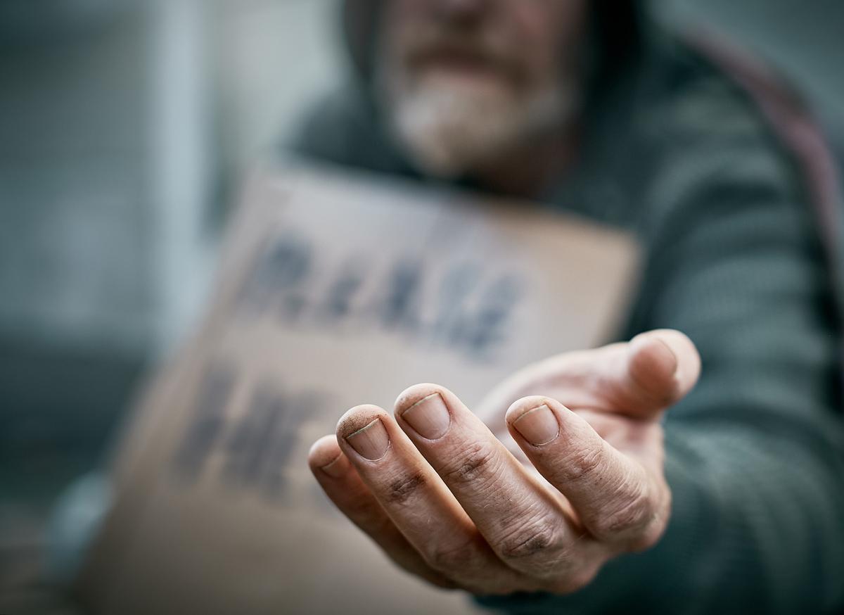 Stöd åt hemlösa
